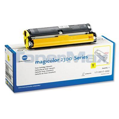 QMS MAGICOLOR 2300 TONER YELLOW 1.5K